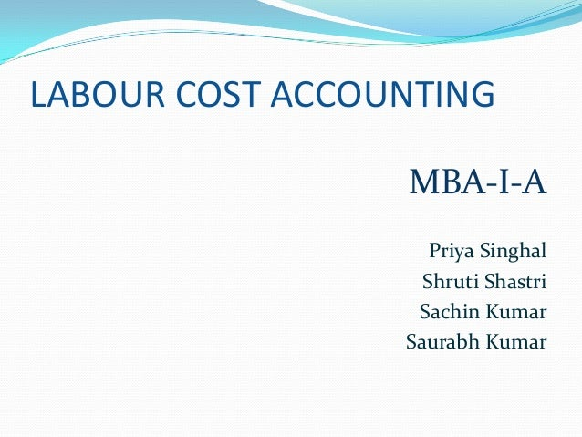 labour cost accounting