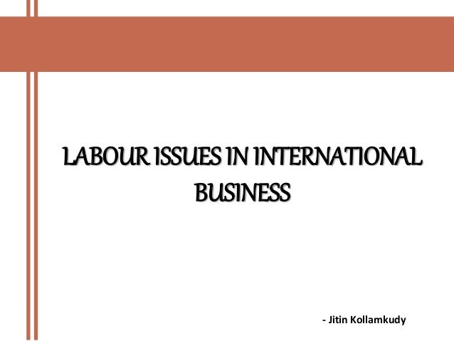 Legal & Ethical Issues in International Business Expansion