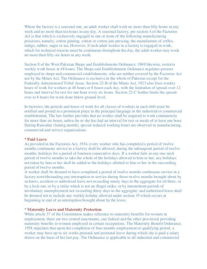 Labour Law Pakistan Slide 3