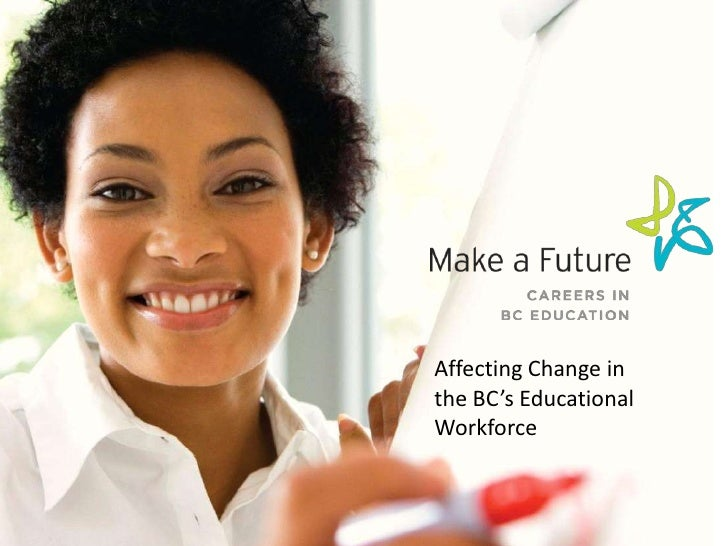 Affecting Change inthe BC's EducationalWorkforce
