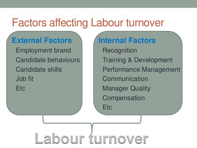 labour turnover Resource managers this study seeks to determine the factors that influence labour turnover in the hospitality industry a descriptive,.
