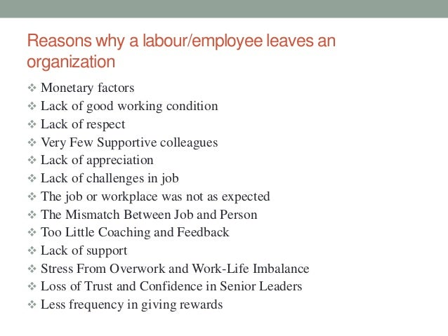 absenteeism and labour turnover in selected Impact of motivation principles on employee absenteeism and turnover arise (crainer motivation role were selected after defining the role of.