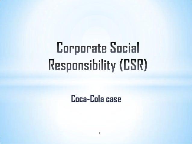 Coca-Cola case  1