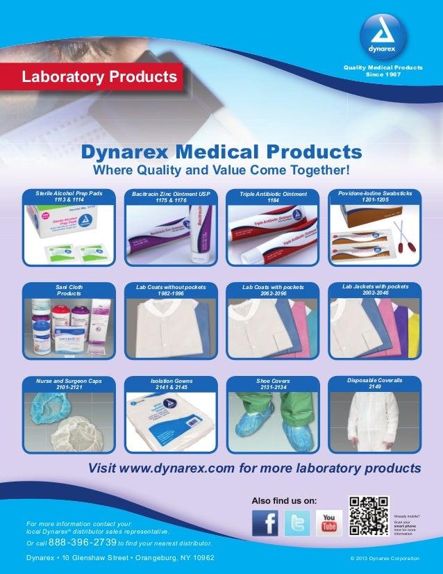 Povidone-Iodine Swabsticks 1201-1205 Lab Jackets with pockets 2002-2046 Nurse and Surgeon Caps 2101-2121 Triple Antibiotic...