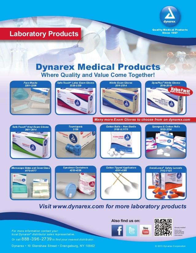 Lab products flyer Slide 2