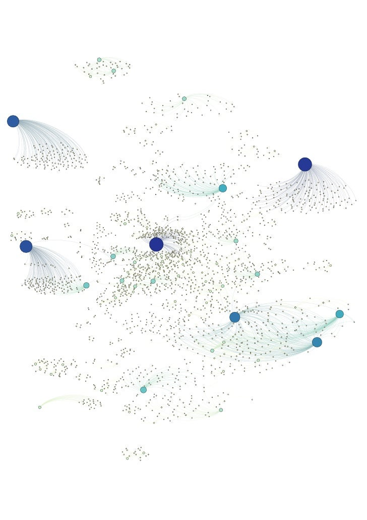 Another MediaWiki visualized with Gephi