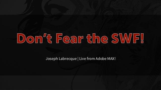 Joseph Labrecque   Live from Adobe MAX!