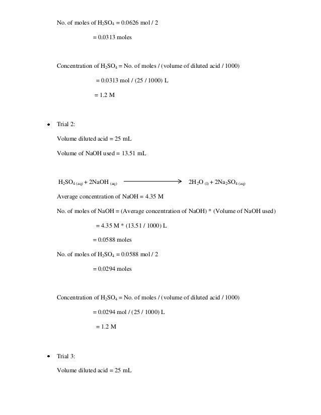 Need help writing my paper acid-base chemistry lab