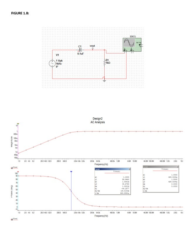 Rc Circuit Transfer Functions With Bode Diagrams