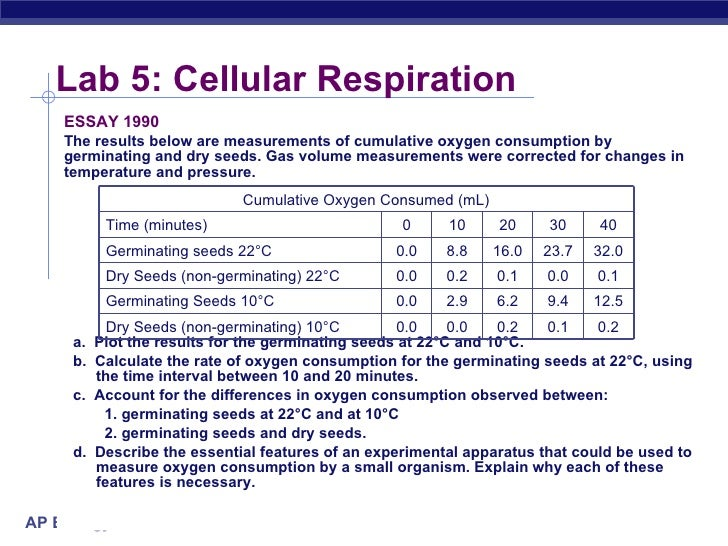 lab report cellular respiration Cellular respiration lab report - find out all you have always wanted to know  about custom writing get to know main recommendations as to.