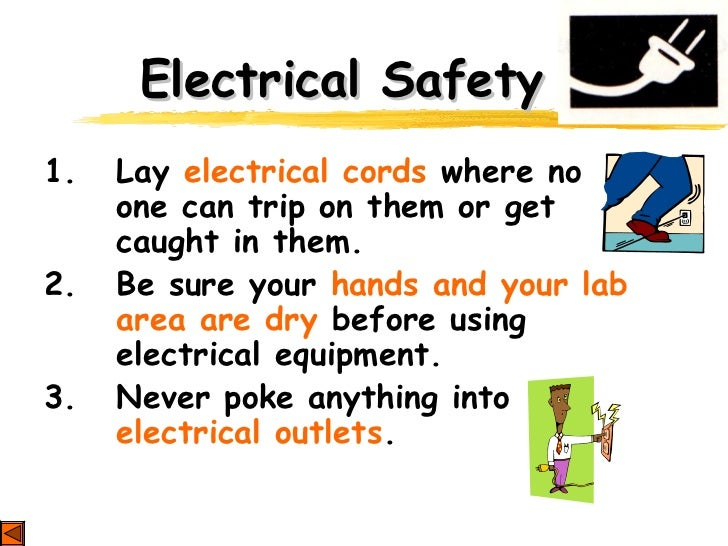Lab safety ppt