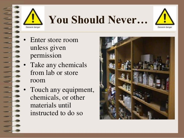 Lab Safety Rules Training By Gsd50