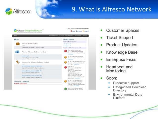 alfresco enterprise how to get