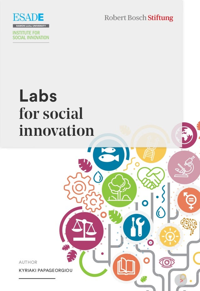 AUTHOR KYRIAKI PAPAGEORGIOU Labs for social innovation