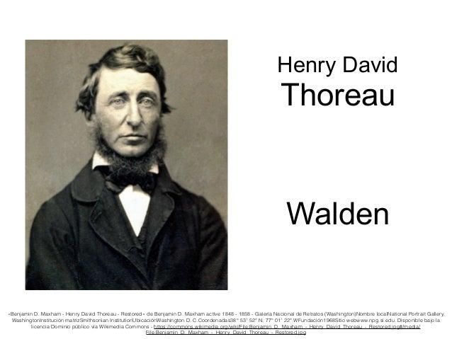 «Benjamin D. Maxham - Henry David Thoreau - Restored» de Benjamin D. Maxham active 1848 - 1858 - Galería Nacional de Retra...