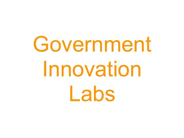 Government Innovation Labs