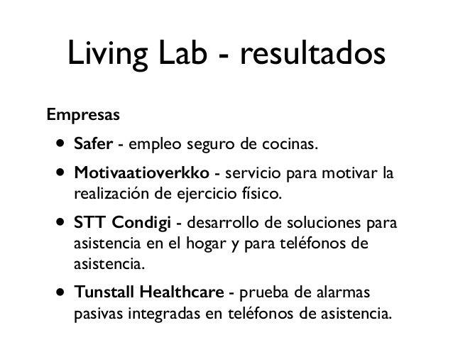 Living Lab - resultados Universidad + Univision • El living lab permitió la colaboración entre la Tampere University of Te...