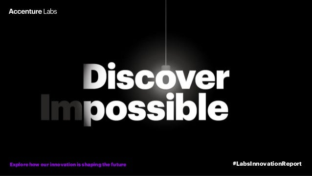 Explore how our innovation is shaping the future #LabsInnovationReport