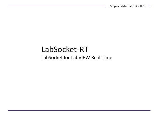 extending labview to the web using the labsocket system