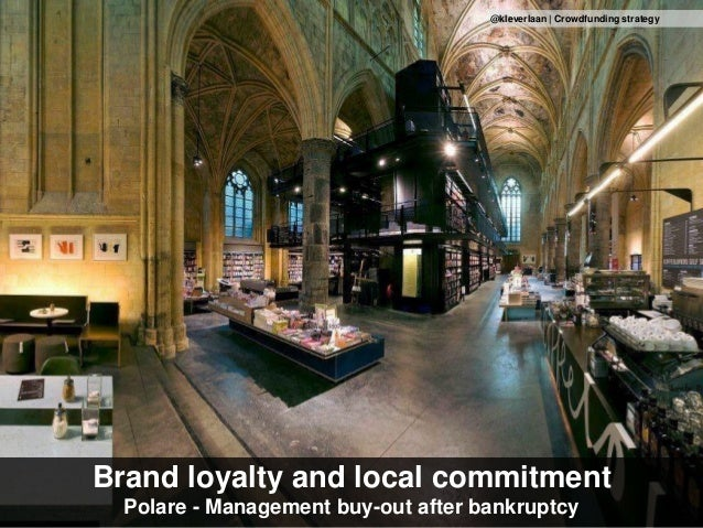 Brand loyalty and local commitment Polare - Management buy-out after bankruptcy @kleverlaan | Crowdfunding strategy