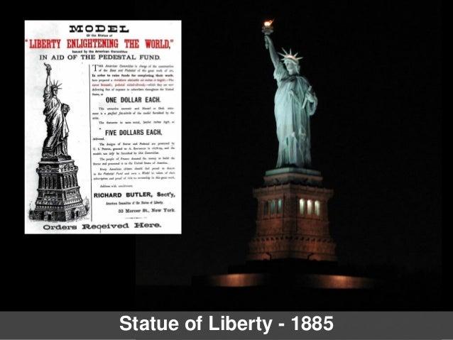Statue of Liberty - 1885