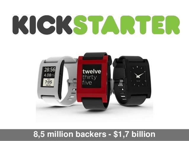 8,5 million backers - $1,7 billion