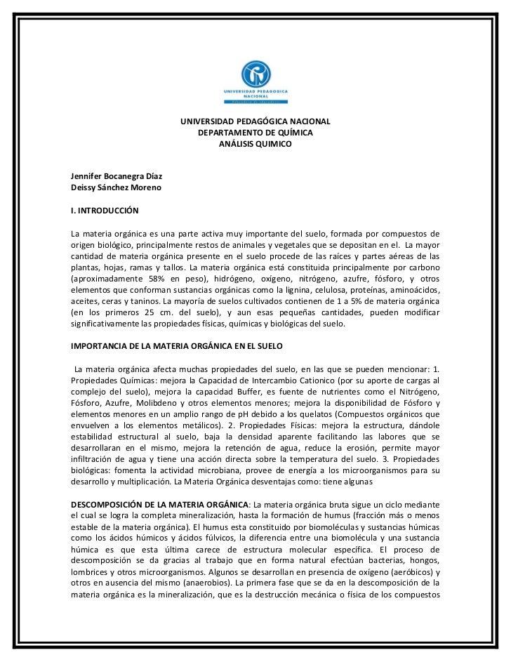 UNIVERSIDAD PEDAGÓGICA NACIONAL                                DEPARTAMENTO DE QUÍMICA                                    ...