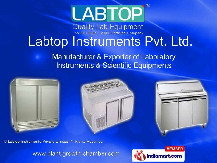 Manufacturer & Exporter of Laboratory Instruments & Scientific Equipments<br />