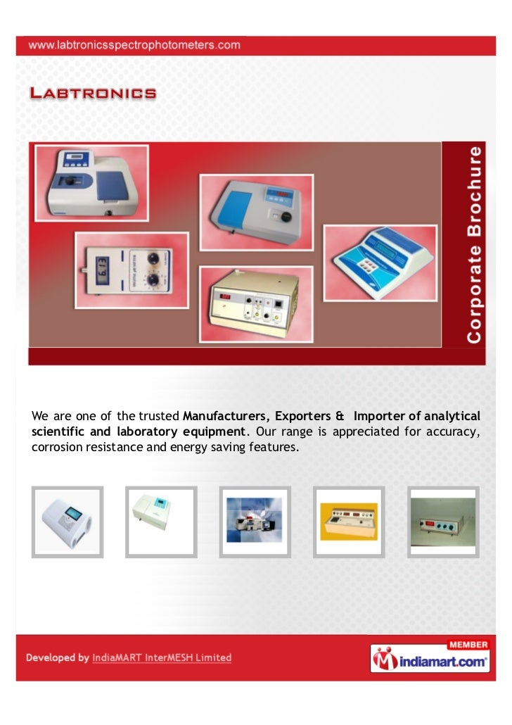 We are one of the trusted Manufacturers, Exporters & Importer of analyticalscientific and laboratory equipment. Our range ...