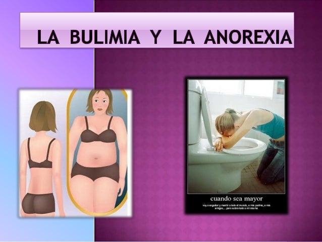    La bulimia es un trastorno alimentario que se da mayoritariamente en    mujeres y quien la padece sufre de grandes ata...