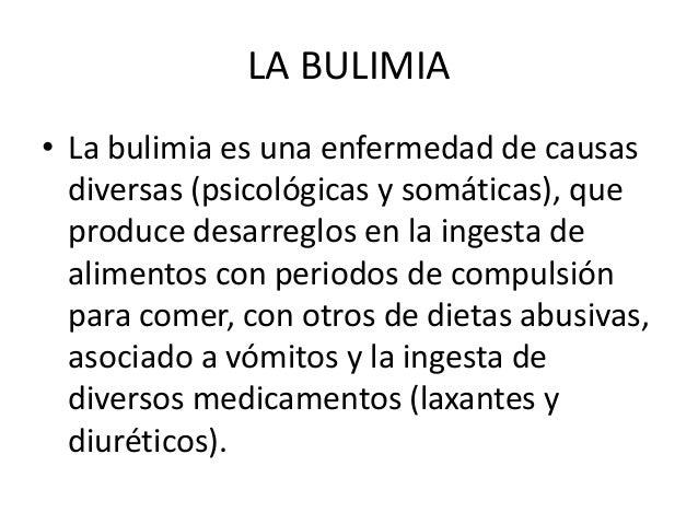 La bulimia y la anorexia - Como tratar la bulimia en casa ...