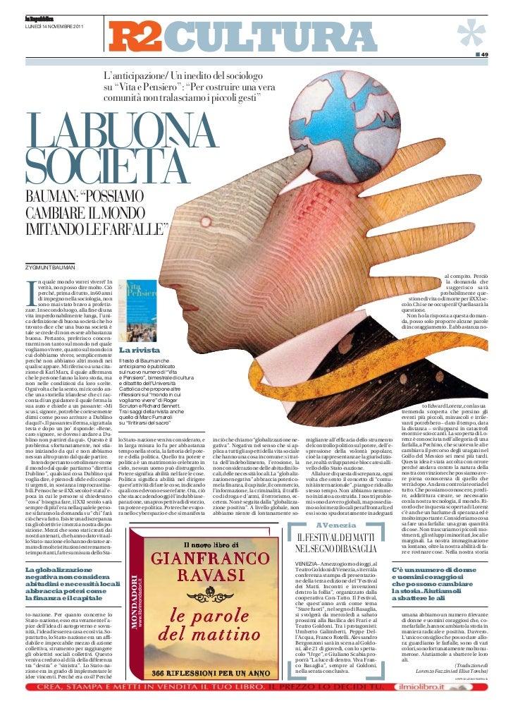 la Repubblica                                                                     CULTURA                                 ...