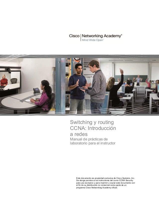 Ccna security 1.1 instructor lab manual