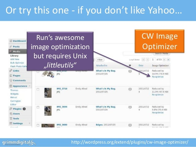 Or try this one - if you don't like Yahoo…       Run's awesome                              CW Image     image optimizatio...