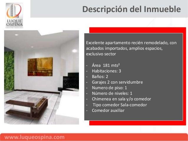 Apartamento en Venta. La Cabrera, Bogotá (Código: 89-M1313608) Slide 3