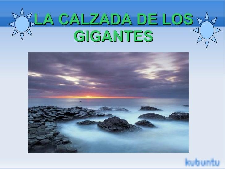LA CALZADA DE LOS GIGANTES