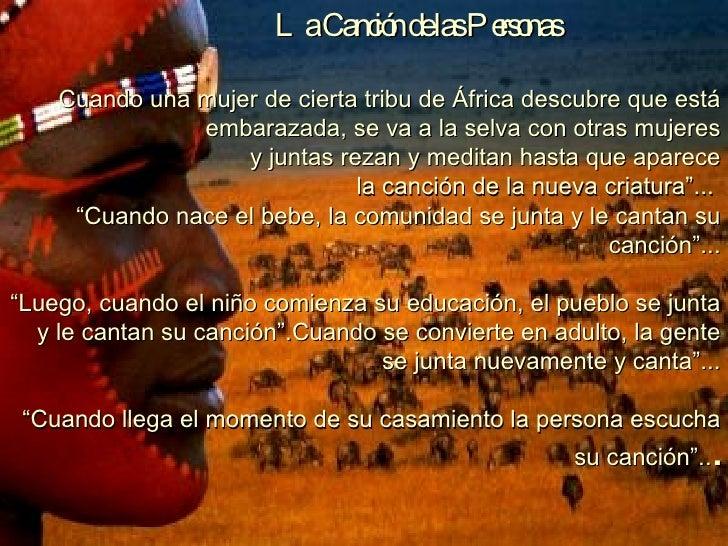 La Canción de las Personas Cuando una mujer de cierta tribu de África descubre que está embarazada, se va a la selva con o...
