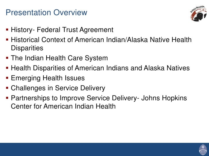 american indian health care issues Health care as stated in treaties with tribes, health care is guaranteed to american indian and alaska native people in perpetuity in exchange for the millions of.