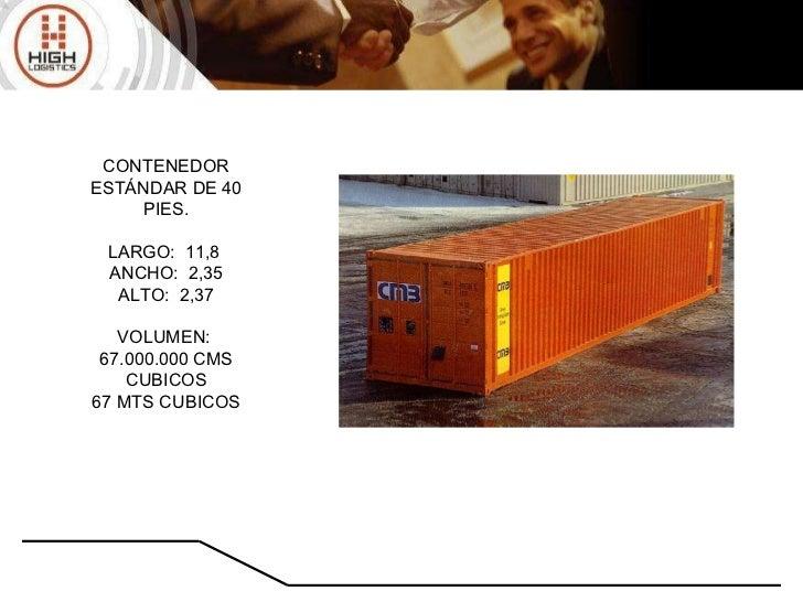 Metros Cubicos De Un Container De 20 Pies Contenedor Los
