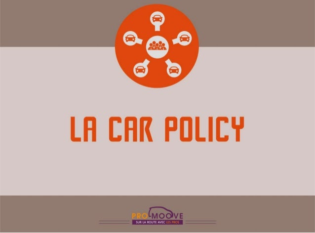 La Car Policy