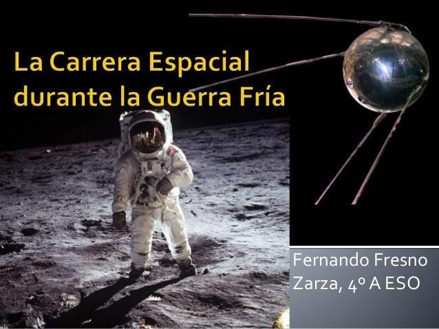 Fernando Fresno Zarza, 4ºA ESO