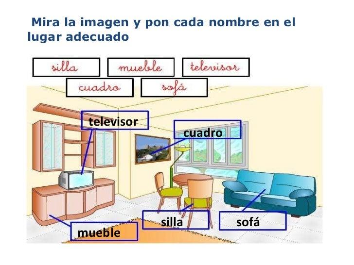 La casa for Muebles de la casa en ingles