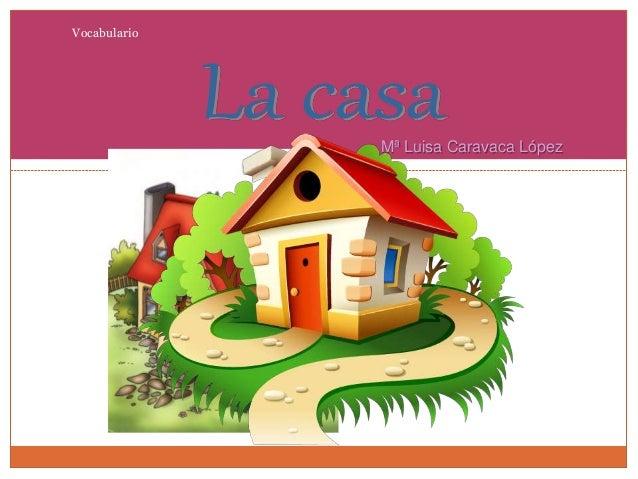 Vocabulario Mª Luisa Caravaca López