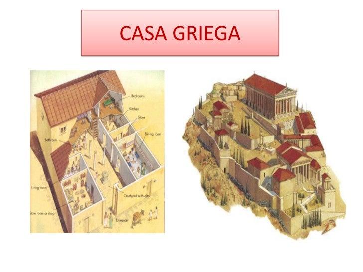 La casa a trav s del tiempo Casas griegas antiguas