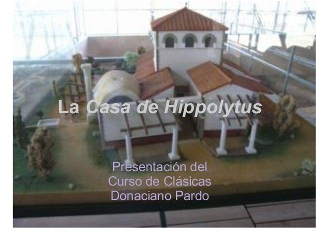 La casa de hippolytus en alcala de henares for Aprender a cocinar en alcala de henares