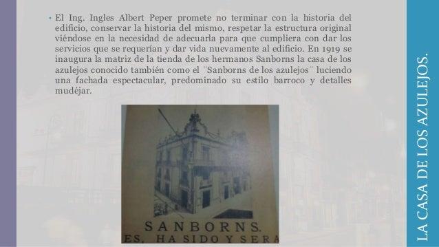 La casa de los azulejos for Sanborns azulejos historia