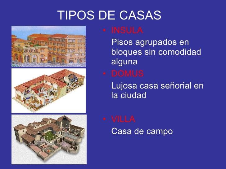 La casa romana - Tipos de tejados para casas ...