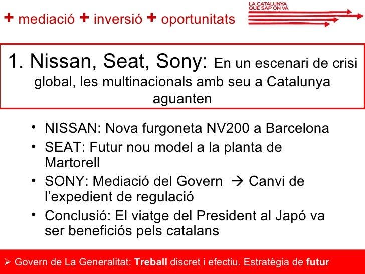La Catalunya que sap on va Slide 2