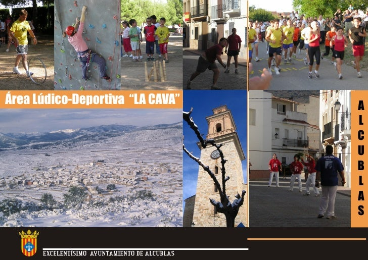 "Área Lúdico-Deportiva ""LA CAVA""                A                                                L                         ..."