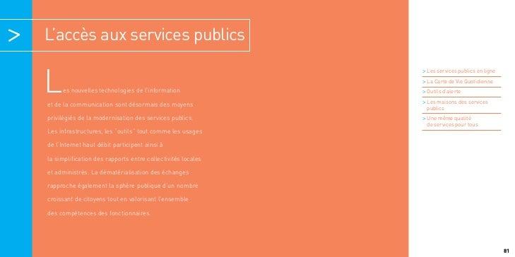 L'accès aux services publics                                                             > Les services publics en ligneL ...